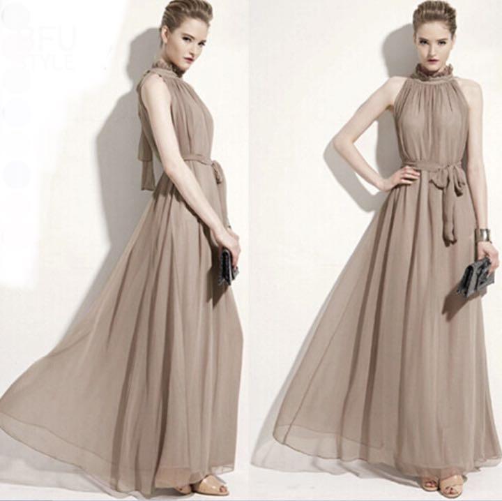 ドレス ノースリーブ