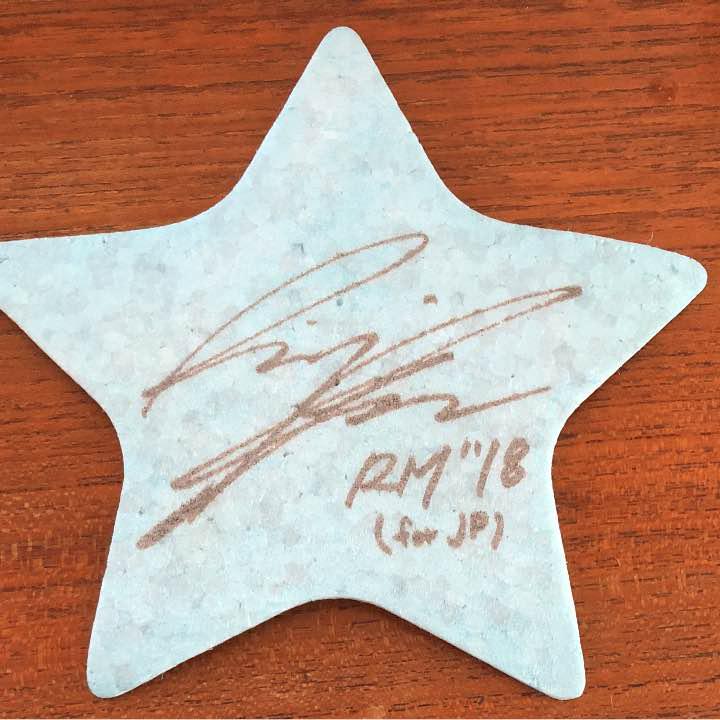bts rm サイン