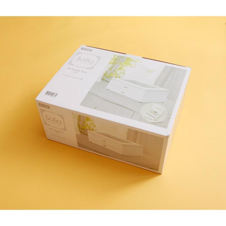 ニトリ アクセサリーボックス