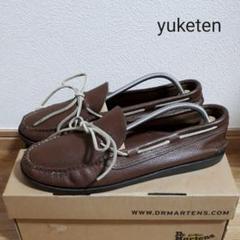 "Thumbnail of ""yuketen ユケテン 革靴 デッキシューズ ブーツ レザー ブラウン メンズ"""