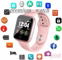 "Thumbnail of ""premium watch デジタル時計 桃"""