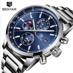 """Thumbnail of """"【1点限り❗】Benyar クォーツ クロノグラフ 腕時計"""""""