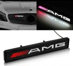 "Thumbnail of ""AMG LED 光るグリルエンブレム フロントグリル LEDエンブレム"""
