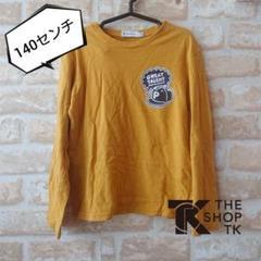"Thumbnail of ""★THE SHOP TK★中古★ワンポイント プリ ロンT★マスタード★140"""