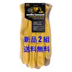 """Thumbnail of """"ウェルズ ラモント wells lamont レザーグローブ 本革  2組"""""""