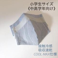 "Thumbnail of ""インナーマスク3枚 小学生 男の子 子供 キッズ 女性小さめ シンプル 冷感素材"""