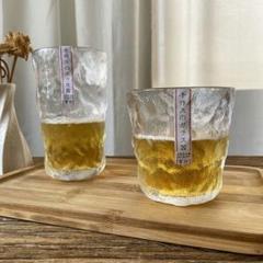 """Thumbnail of """"新品 氷河のグラス ウイスキーグラス クリア 清涼やかな焼酎グラス    2枚"""""""