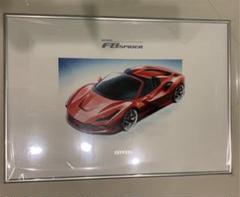 """Thumbnail of """"フェラーリF8スパイダー リトグラフ"""""""