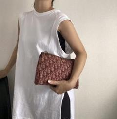 """Thumbnail of """"クリスチャンディオール Dior トロッター クラッチバッグ"""""""