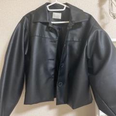 """Thumbnail of """"肩落ちタイプのレザージャケットです。Instagramの通販から購入致しました。"""""""