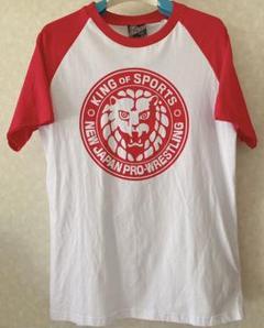 """Thumbnail of """"しまむら 新日本プロレス ライオンマーク Tシャツ Mサイズ"""""""