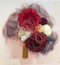 """Thumbnail of """"愛らしい髪かざり 袴 卒業式 結婚式 成人式 髪飾り 成人式髪飾り 和装"""""""