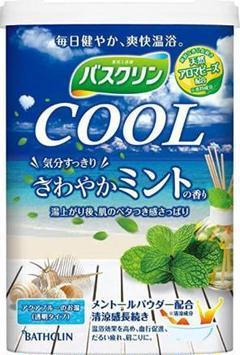 """Thumbnail of """"バスクリン COOL さわやかミントの香り 入浴剤"""""""