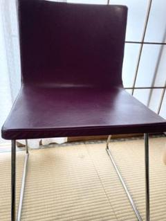 "Thumbnail of ""IKEA  椅子 ベルナード 紫 希少 早いもの順 大幅値下げ☆"""