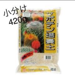 "Thumbnail of ""サボテン培養土*小分け420g"""