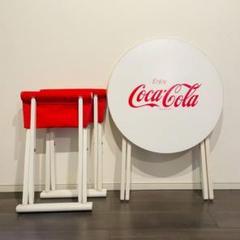 "Thumbnail of ""【coca cola】非売品・折りたたみテーブルチェアセット"""
