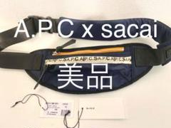 """Thumbnail of """"APC x sacai Jackie ヒップバッグ ネイビー"""""""