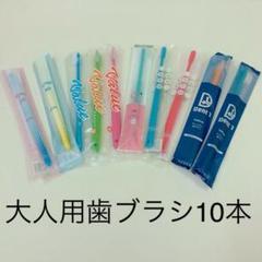 "Thumbnail of ""歯科医院専用大人用歯ブラシ まとめ売り10本"""