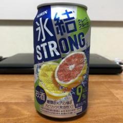 """Thumbnail of """"氷結 ストロング グレープフルーツ 缶350ml 15本入り"""""""