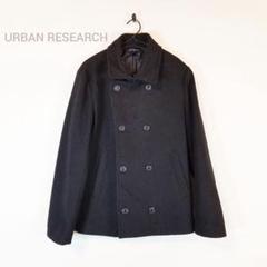 "Thumbnail of ""URBAN RESEARCH アーバンリサーチ ピーコート M 黒 定番 メンズ"""
