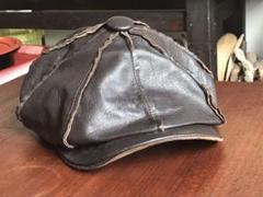 """Thumbnail of """"ニューヨークハット Newyork hat  レザーキャスケット  Lサイズ"""""""