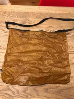 """Thumbnail of """"FAIRWEATHER packable sacoche (camel)"""""""