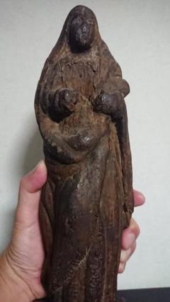 "Thumbnail of ""隠れキリシタン マリア像 切支丹 信仰 キリスト教"""