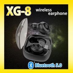 """Thumbnail of """"XG-8 ワイヤレスイヤフォン Bluetoothイヤフォン イヤホン 黒"""""""