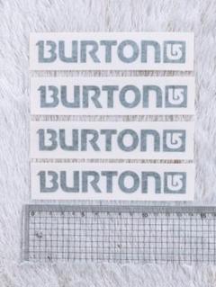 """Thumbnail of """"BURTON バートン ステッカー 4枚組"""""""