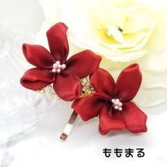 """Thumbnail of """"つまみ細工のポニーフック"""""""