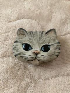 "Thumbnail of ""CAROL HALMY 猫 小物入れ"""