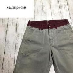 "Thumbnail of ""【Anachronorm】アナクローム ダメージ加工 ツートーンパンツ"""