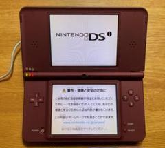 """Thumbnail of """"任天堂 DSi LL ワインレッド 本体 タッチペン 充電器 取扱説明書"""""""