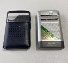 "Thumbnail of ""SONY 高感度ポケットラジオ ICF-R40  電池付き"""