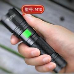 "Thumbnail of ""新品✜USBケーブル付き✜懐中電灯 LED 強力 M10XPE 防水a7"""
