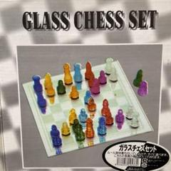 """Thumbnail of """"GLASS CHESS SET ガラスチェスセット"""""""