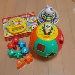 """Thumbnail of """"いないいないばぁ ワンワンとうーたん 玩具セット"""""""