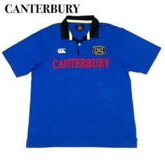 """Thumbnail of """"CANTERBURY カンタベリー ラガーポロシャツ ブルー XL ラバーボタン"""""""