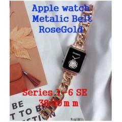 """Thumbnail of """"applewatch アップルウォッチ バンドチェーン ローズゴールド38/40"""""""