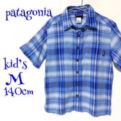 """Thumbnail of """"パタゴニア Patagonia トップス シャツ キッズ 140cm ブルー"""""""
