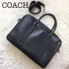 """Thumbnail of """"◆極美品◆コーチ 2way ビジネスバッグ ショルダーバッグ オールレザー 黒"""""""