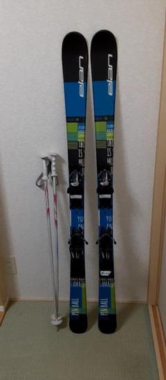 """Thumbnail of """"ジュニア スキー板  エランelan 140cm"""""""