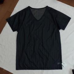 """Thumbnail of """"新品タグ付き、ワコール、メンズLサマーインナーシャツ、ブラック系"""""""