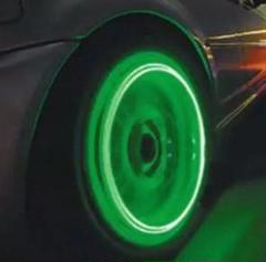 """Thumbnail of """"LED タイヤライト ホイールマーカー グリーン 緑 車 バイク 自転車"""""""