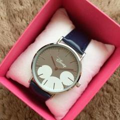 ミッキー☆アイコンデザイン【新品】アナログ腕時計☆レディース,キッズ☆時計