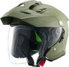 """Thumbnail of """"マルシン(MARUSHIN) ヘルメット ジェット TE-1 マットカーキ M"""""""