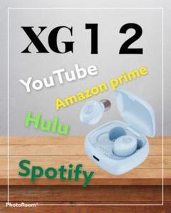"Thumbnail of ""XG-12 ブルー ワイヤレスイヤホン 高音質 おしゃれ"""