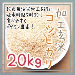 "Thumbnail of ""無洗加工玄米 令和2年度 埼玉県産 コシヒカリ 20kg 加工料込み お米"""