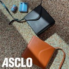 """Thumbnail of """"ASCLO ショルダーバッグ ブラウン"""""""