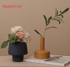 "Thumbnail of ""3点セット 幾何学的造形テーブルの置物小口花器陶磁器の花瓶r"""